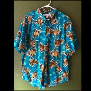 Pineapple Hawaiian shirt